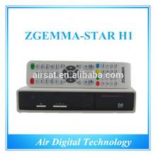 Original support Zgemma-star H1 based dvb-S2+C enigma2 dvb-c modulator satellite receiver