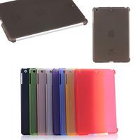 Matte Rubber PC hard case for iPad mini 1 2 3