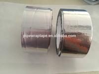Reinforced alu tape asphalt based adhesive for roof waterproofing