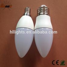 3w E14 E27 base high quality china manufacturer led candles