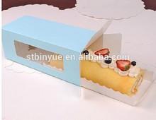 Blue strip packing box cake box
