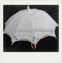 wood handle umbrella decoration for home