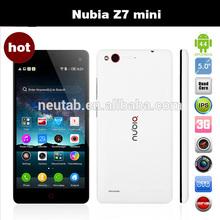 Novelties Wholesale China zte nubia z7 mini mobile
