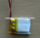 301550 3.7v 170mAh li-ion rechargeable Bluetooth lithium batteries