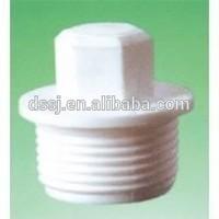 Plastic UPVC/PVC Male Plug Pipe Fittings End Plug