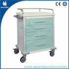 BT-EYS01 Luxury hospital steel medicine trolleys emergency