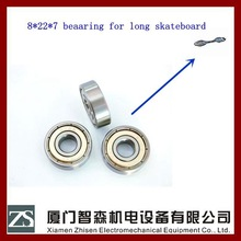 high perfomance C4 608 open ball bearing for long skateboard