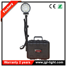 12v battery powered search work light Remote outdoor LED mining flood light Portable construction heavey duty searchlight