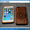 For iphone6 case wood,pc wood case for iphone6, PC wood phone case