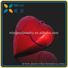 Heart Shape Plastic USB 2.0 Drive / USB Flash Drive / USB Flash Memory