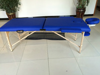 New !2 section wooden portable massageliege