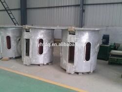 aluminum melting holding furnace,induction melting furnace for heavy melting scrap