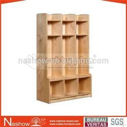 solid wood kid school storage locker