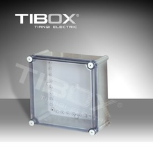Plastic latch and hinge type junction box,enclosure