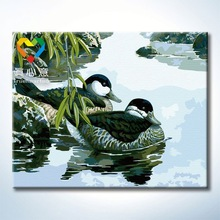 Truehearted animal photo realistic painting lacquer wall art