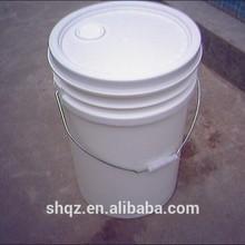 Wholesale pp white 50l plastic bucket