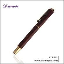 Free fountain pen sample promotional pen wooden fountain pen