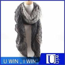 2015 twill location square silk scarf high fashion