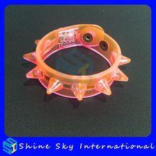 Fashion New Arrival Logo Print Gift Led Flashing Bracelet