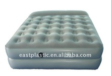 double inflatable air bed air mattress with hand pump ,inflatable pillow