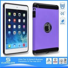 Luxury pc case plastic protective cover for apple ipad mini