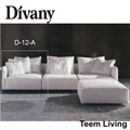 Melhor divany seccionais sofás e chaises/tecido sofá de canto/couro sofá-cama d-12-a