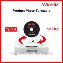 Winbiz motorized photography turntable portable background for photo