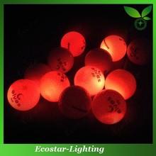 Cheap LED Golf Balls Manufacturer Colorful LED Golf Balls with Own Design