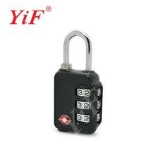 TSA Lock,TSA Padlock,Travel Lock,Luggage Lock,Combination Lock,3 Dials Lock by YiFeng