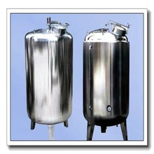 stainless galvanized steel large 10000 litre water pressure tank for water filtration plant