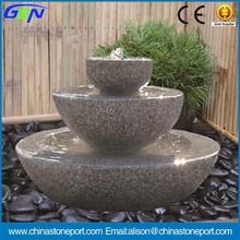 Three Tiers Garden Water Fountain