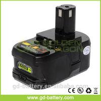 Replace for Ryobi 18v Li-ion cordless tool drill battery&18V Ryobi P104 power tool battery