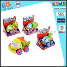 Friction toy car,cartoon rock engineering inertia toy car