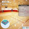 Durable Simple Color Wondeful Non dusty Plastic flooring tennis training equipment