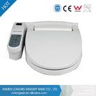 New design auto flush intelligent closet intelligent fabric toilet seat cover