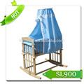 Nova cama de madeira com rodas/berço berço/móveis para bebê