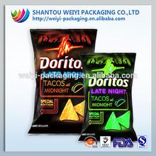 Aluminum foil pouch snack packaging pouches