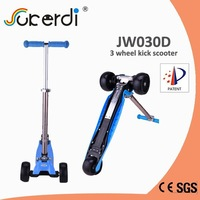 NEW PRODUCT foldable big wheel scooter 3 wheel adult kick scooter
