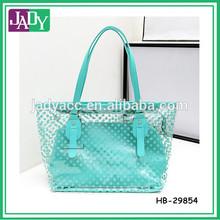 Polka Dots Print Transparent Bag Beach Bag