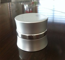 frosted glass candle jar with lid cosmetics cream empty jar