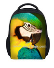 children unique 3d life-like birds animal printed sports travel bags, sports pack,cute book packs, school backpack