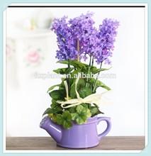 artificial flower pot,artificial hyacinth,silk flower