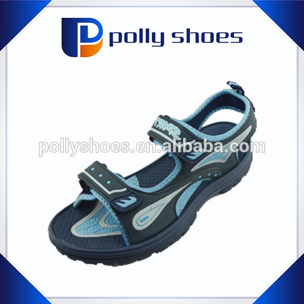 special design men eva rubber sandal with velcro