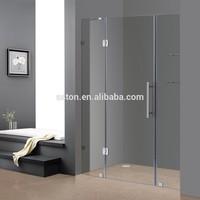Portable Hinge Tempered Glass Shower Enclosure Door
