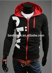 China wholesale instyles Fashion Men's Winter Sweatshirts Jackets Vheap Thick Hooded Zip Coat Hoodies