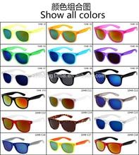 YJ00095 18 colors lens and frame sun glasses eyewear man womenrb new wayfarer sunglasses