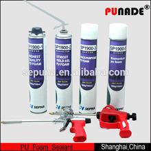 Sepuna Item-Sp1900-2 aerosol cans polyurethane foam sealant,waterproof foam