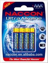 best selling1.5v am4 lr03 alkaline battery manufacture