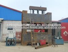 short cycle melamine lamination hot press machine mdf making and laminating machine / hydraulic short cycle melamine laminating