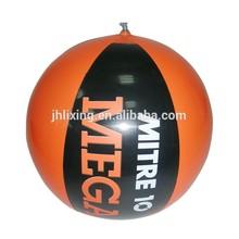"16"" phthalate free PVC logo printed inflatable beach ball"